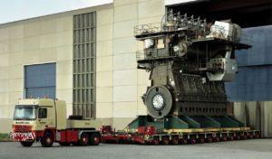 Este es el motor diésel más grande y potente del mundo