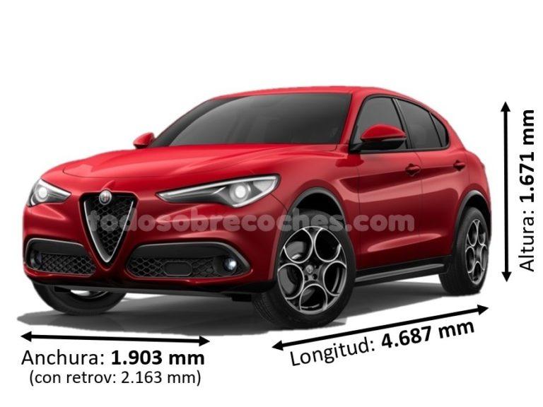 Medidas Alfa Romeo Stelvio