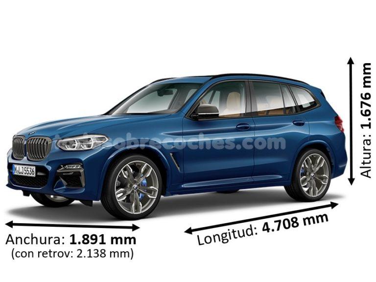 Medidas BMW X3
