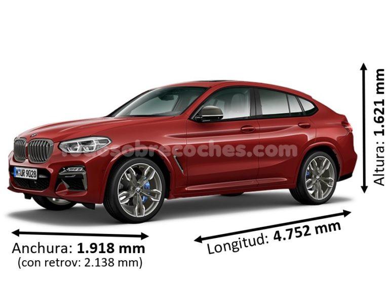 Medidas BMW X4