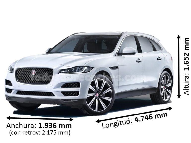 Medidas Jaguar F-Pace
