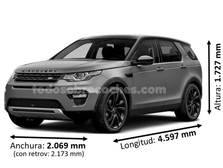 Medidas Land Rover Discovery Sport