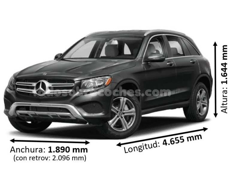 Medidas Mercedes GLC
