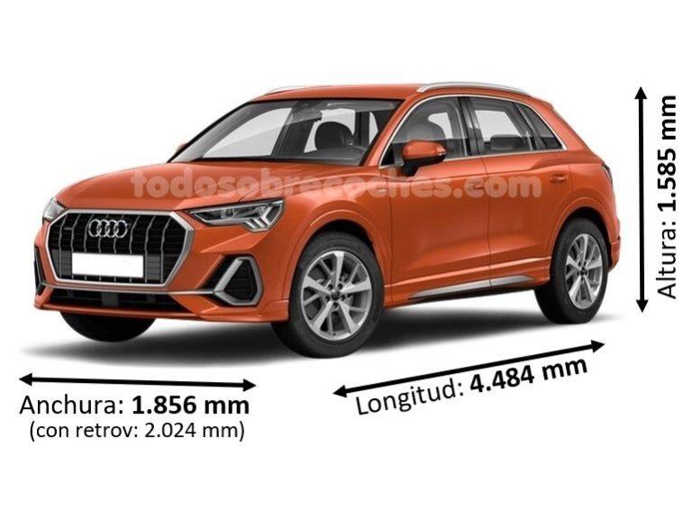 Medidas Audi Q3 básicas