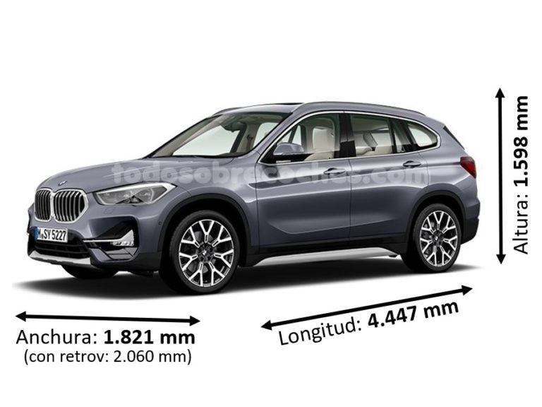 Medidas BMW X1 básicas