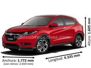 Medidas Honda HR-V