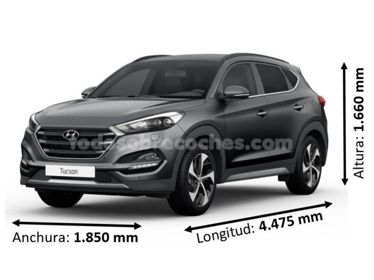 Medidas Hyundai Tucson básicas