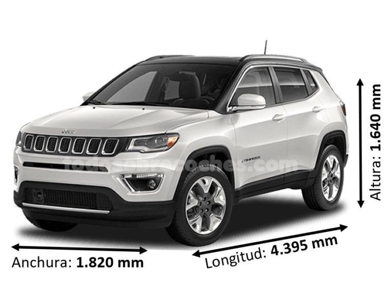 Medidas Jeep Compass básicas