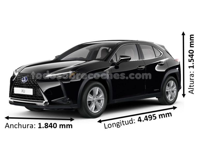 Medidas Lexus UX