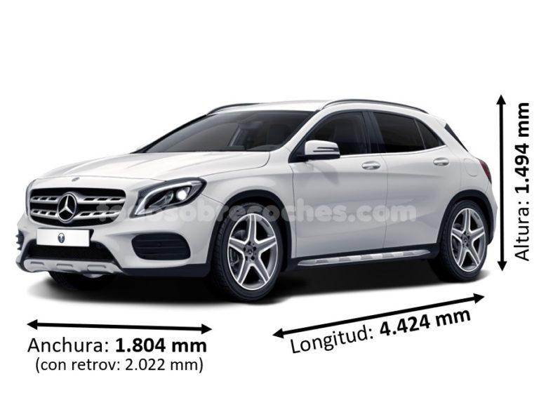 Medidas Mercedes GLA