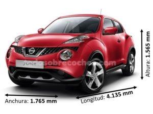 Medidas Nissan Juke