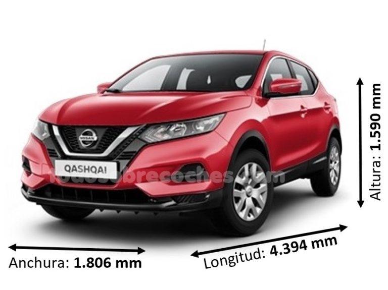 Medidas Nissan Qashqai