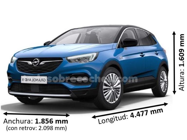 Medidas Opel Grandland X