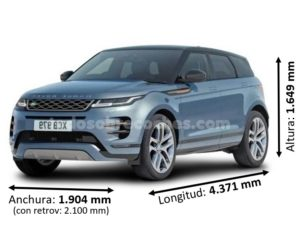 Medidas Range Rover Evoque