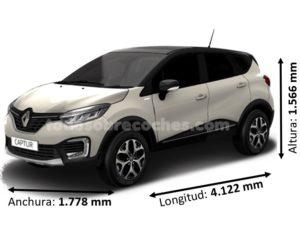 Medidas Renault Captur
