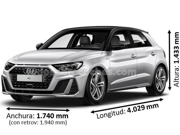 Medidas Audi A1 2019