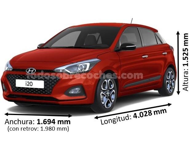 Medidas Hyundai i20