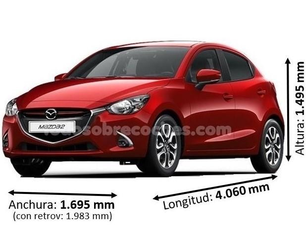Medidas Mazda 2