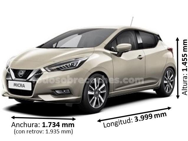 Medidas Nissan Micra
