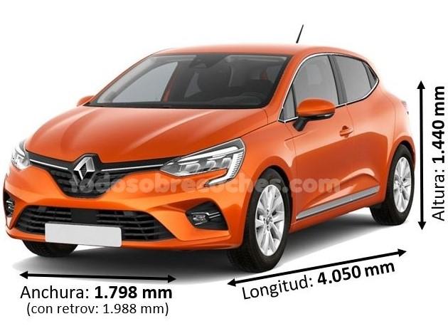 Medidas Renault Clio 2020