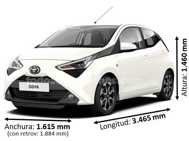 Medidas Toyota Aygo