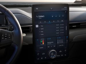 Ford Mustang Mach-E pantalla central tablet