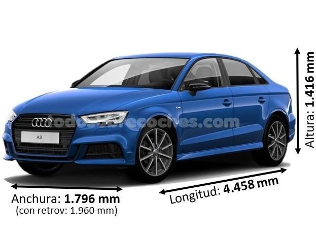 Medidas Audi A3 sedan