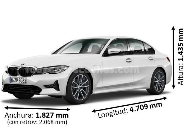 Medidas BMW serie 3 2019