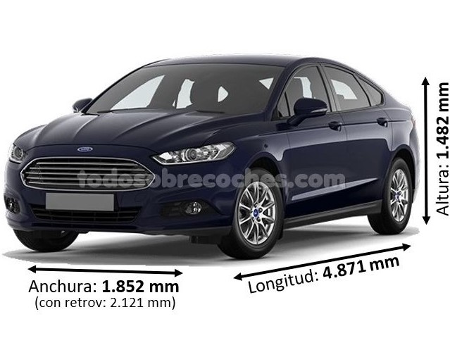Medidas Ford Mondeo 2019