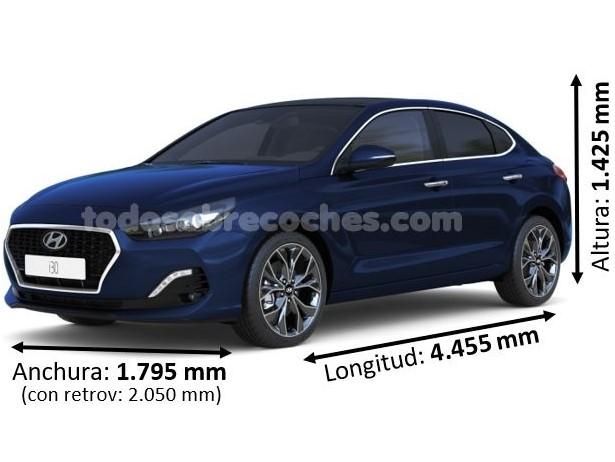 Medidas Hyundai i30 fastback