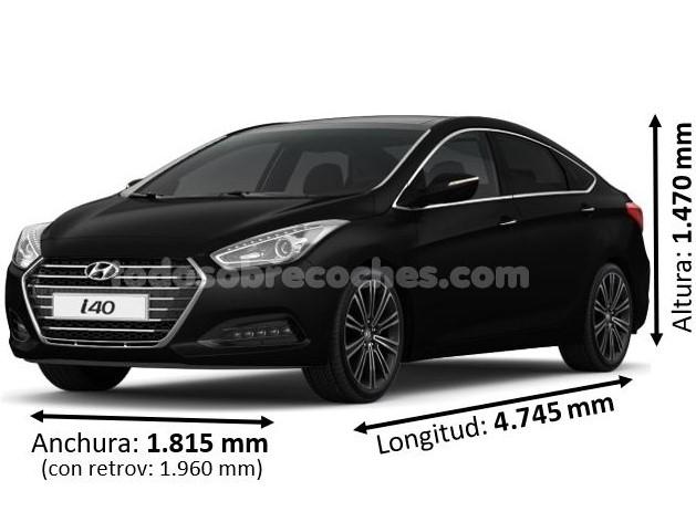 Medidas Hyundai i40