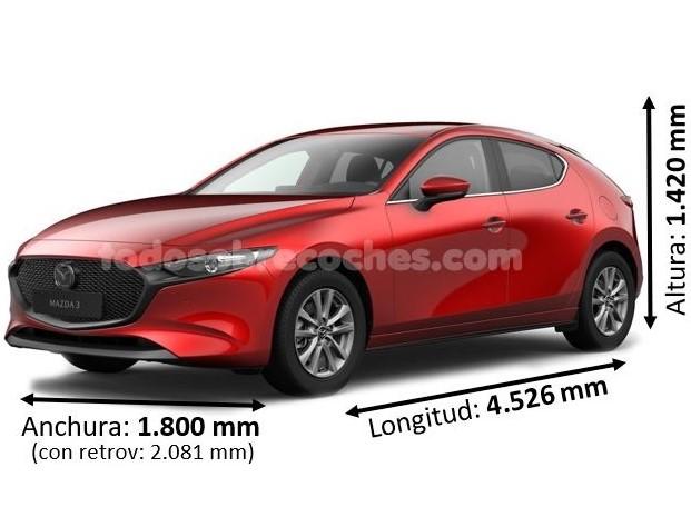 Medidas Mazda 3