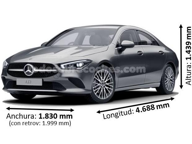 Medidas Mercedes CLA 2020