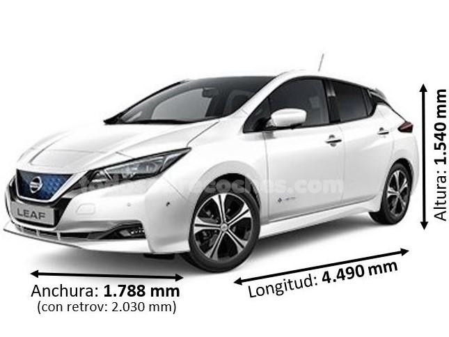 Medidas Nissan Leaf
