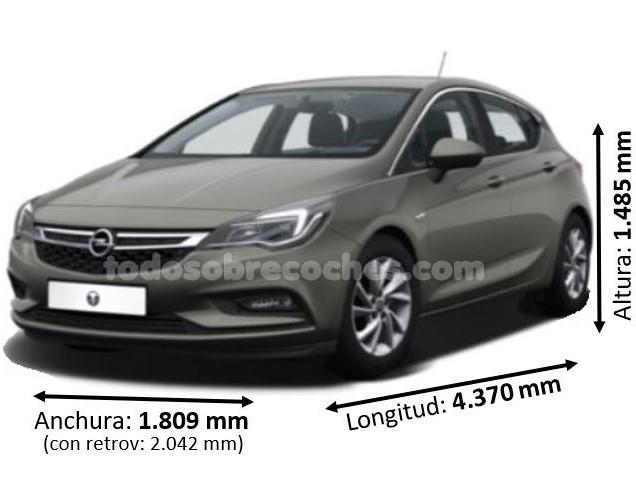 Medidas Opel Astra