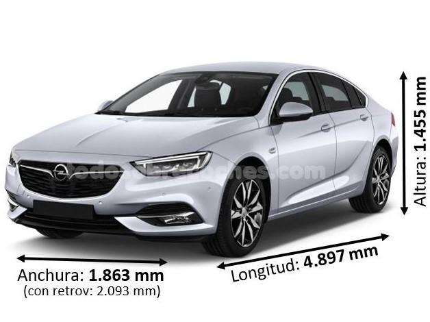 Medidas Opel Insignia 2019