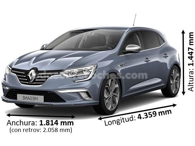 Medidas Renault Megane