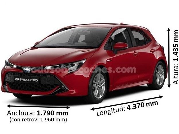 Medidas Toyota Corolla
