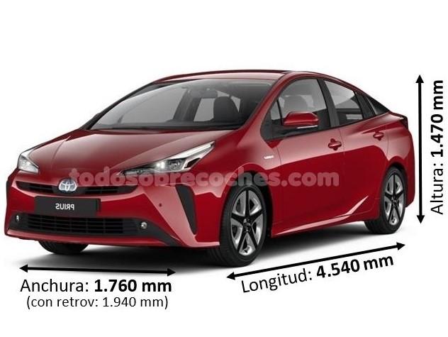 Medidas Toyota Prius