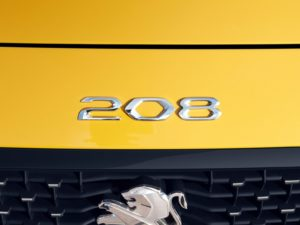 Peugeot 208 2019 emblema 208