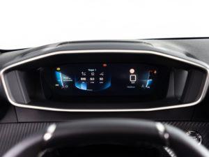 Peugeot 208 2019 ordenador a bordo 3d