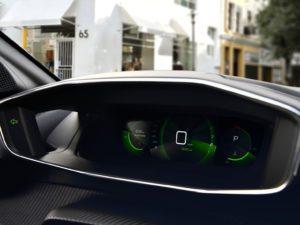 Peugeot 208 2019 pantalla central 3D