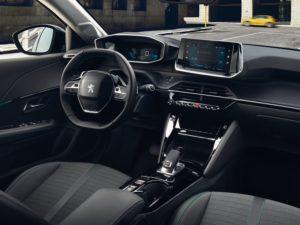 Peugeot 208 2020 interior Allure atuomatico