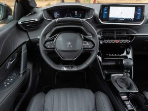 Peugeot 208 2020 interior gt