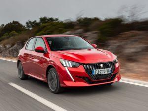Peugeot 208 2020 rojo feria
