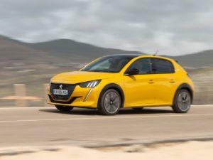 Peugeot 208 2020 velocidad punta