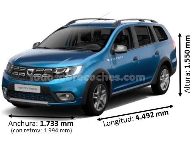 Medidas Dacia Logan MCV
