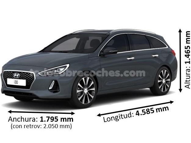 Medidas Hyundai i30 CW