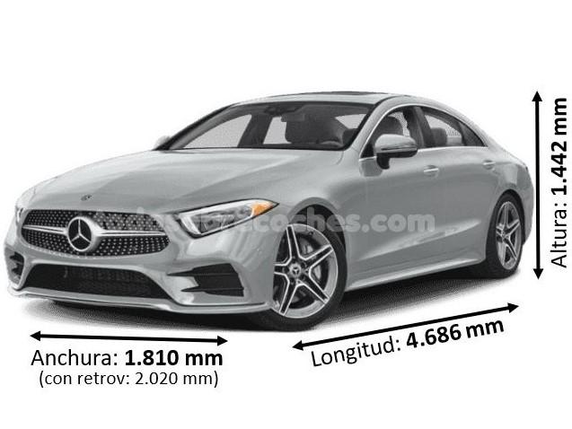 Medidas Mercedes CLS 2020