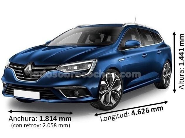 Medidas Renault Megane sport tourer